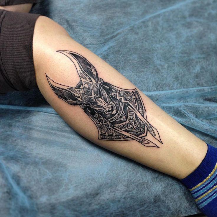 anubis tattoo30
