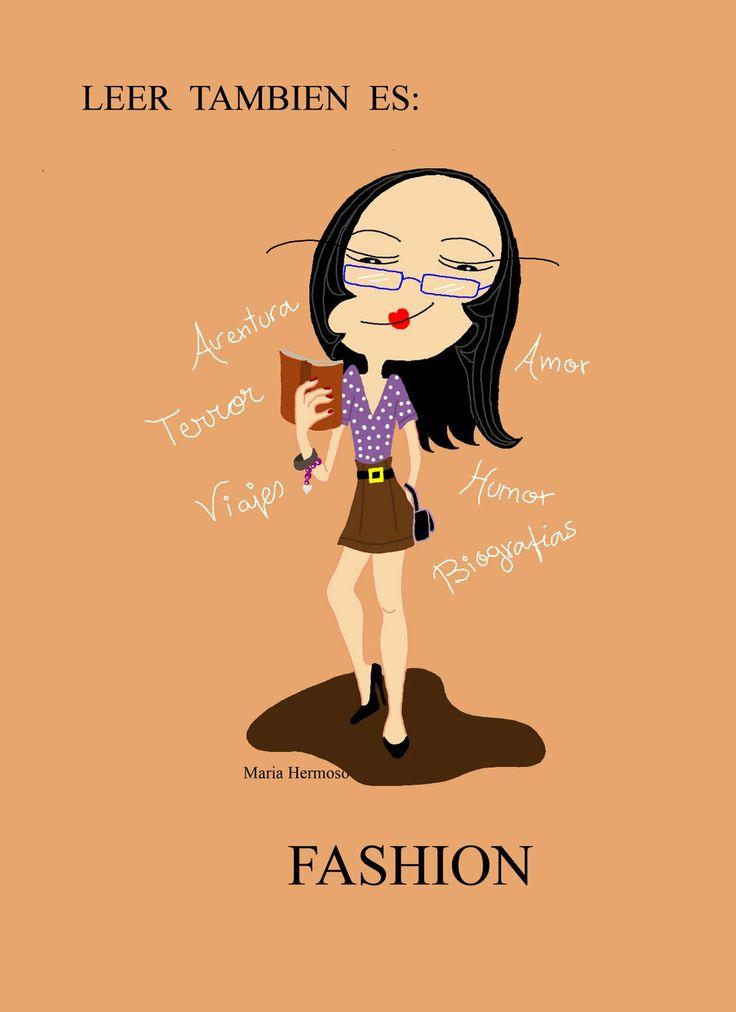 Leer también es ... fashion