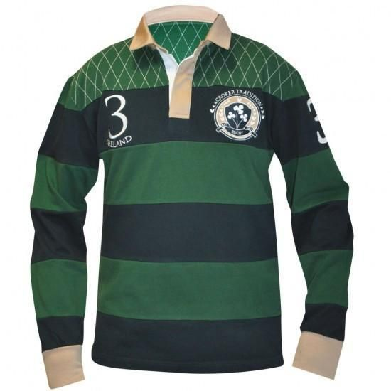 Traditional Ireland Rugby Jersey