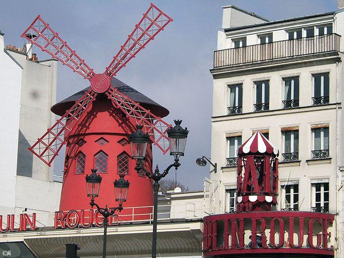 Paris, le moulin rouge By Alainchant93