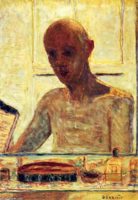 'autoportrait dans un rasage miroir', huile sur toile de Pierre Bonnard…