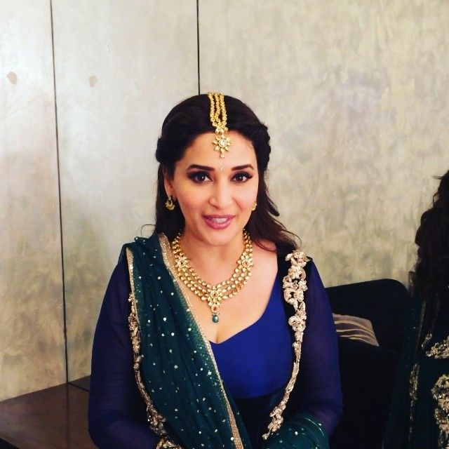 Madhuri Dixit gearing up for 59th Idea Filmfare Awards 2014