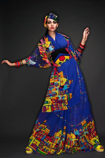 Play Clan è un marchio creato da una compagnia indiana, che coniuga i colori della loro cultura alla moda e al design, la combinazione perfetta per me, che adoro tutto ciò che è arte.  Il bello di questo marchio è che ti porta in India ma che lo fa con stile e rimanendo a passo con i tempi. Vi consiglio di andare a visitare il loro negozio online per vedere come è possibile coniugare tradizione e modernità.