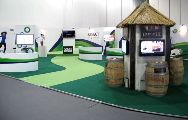 Exhibition Stand Game : Games fest xbox exhibition stand experiential marketing