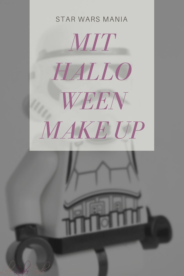 Star Wars Mania Mit Halloween Make Up