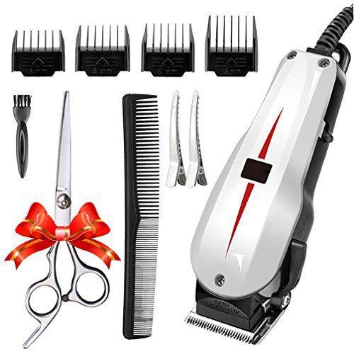 Rantizon Tondeuse Cheveux Pour Hommes 10 en 1 Professional Tondeuse Electrique Ajustable Longueurs de Coupe Acier Inoxydable Filaire…