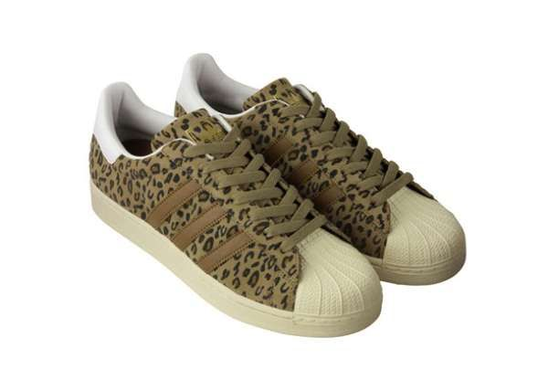 Animal-Print Sneakers. Leopard SneakersSneakers AdidasSuperstar ...