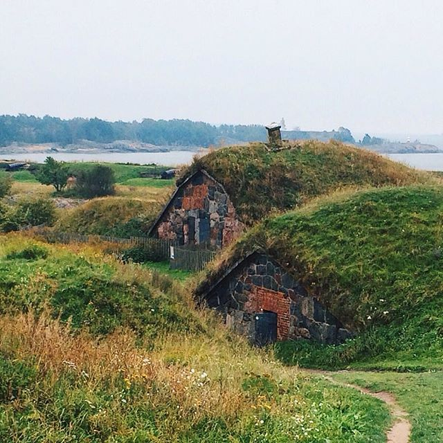 There aren't any hobbits on Suomenlinna, Finland's old fortress island, but did you know that Tolkien was heavily influenced by the Finnish epic Kalevala and the Finnish language? It's what he based elvish on! Follow me on Instagram for more travel inspiration - @shannonigans16