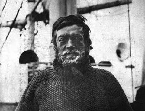 Ernest Shackleton, Anglo-Irish polar explorer.  One of the principal figures of the period known as the Heroic Age of Antarctic Exploration. He became an hero after the disaster struck this expedition when its ship, Endurance, became trapped in pack ice and was slowly crushed before the shore parties could be landed. There followed a sequence of exploits, and an ultimate escape with no lives lost,