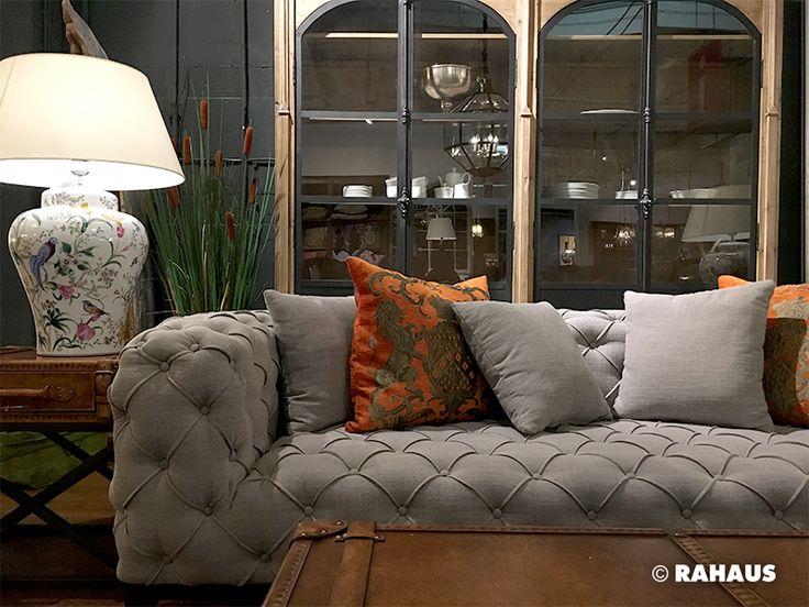 LUXURY Sofa Stil Berlin RAHAUS Teppich Sessell Couchtisch