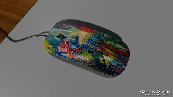 Computer mouse,mice, számítógéphez egér festménnyel 7.
