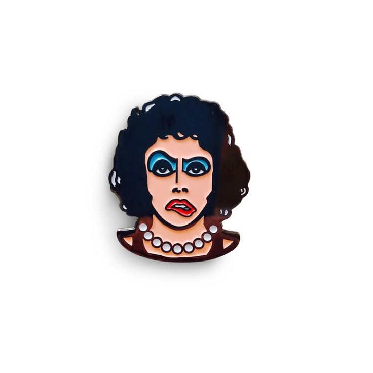 Floorshow Titillated Transvestite Variant Enamel Pin by Creepy Co.