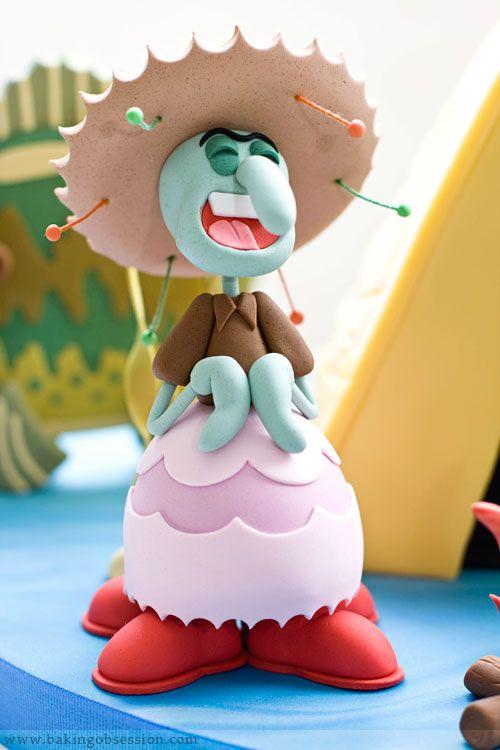 108 best Cakes SpongeBob images on Pinterest Spongebob