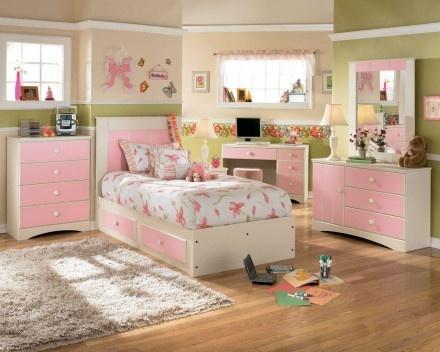 Kids Bedroom Pink Furniture Sets