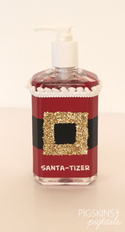 Santa-tizer | I'll have to remember this when Christmas roles around