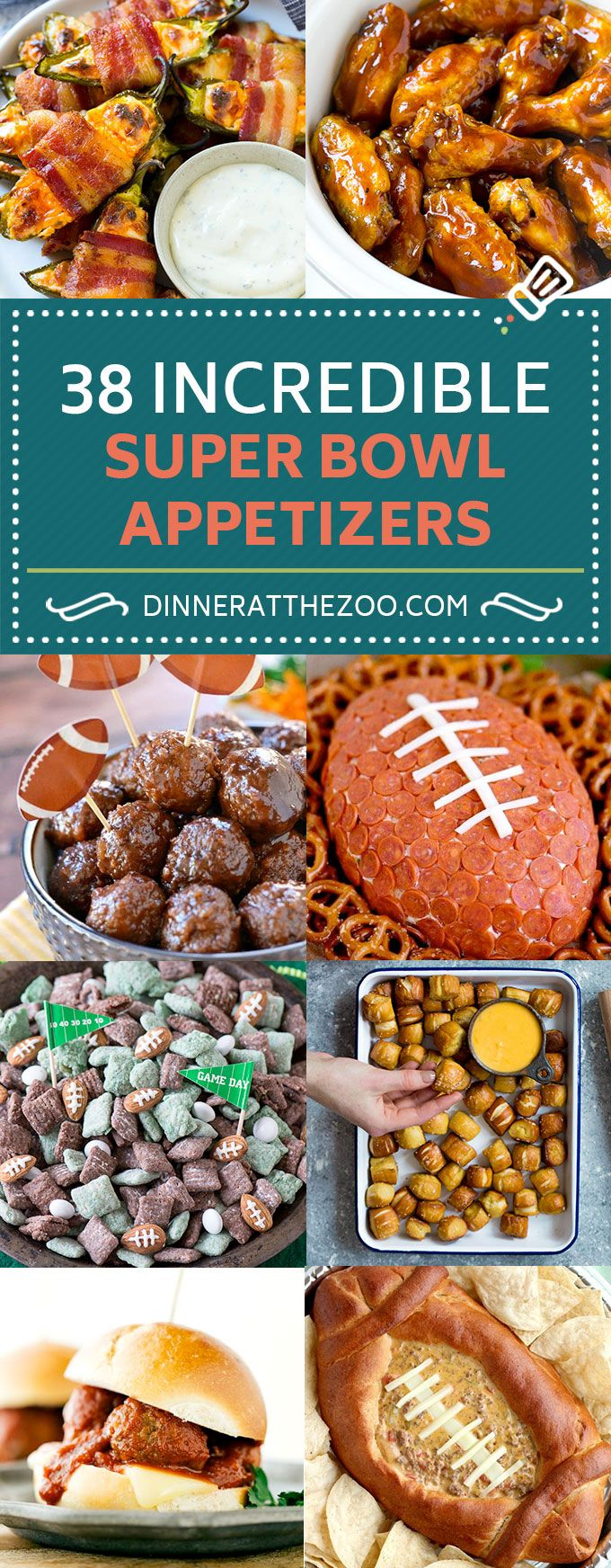 38 Super Bowl Appetizer Recipes