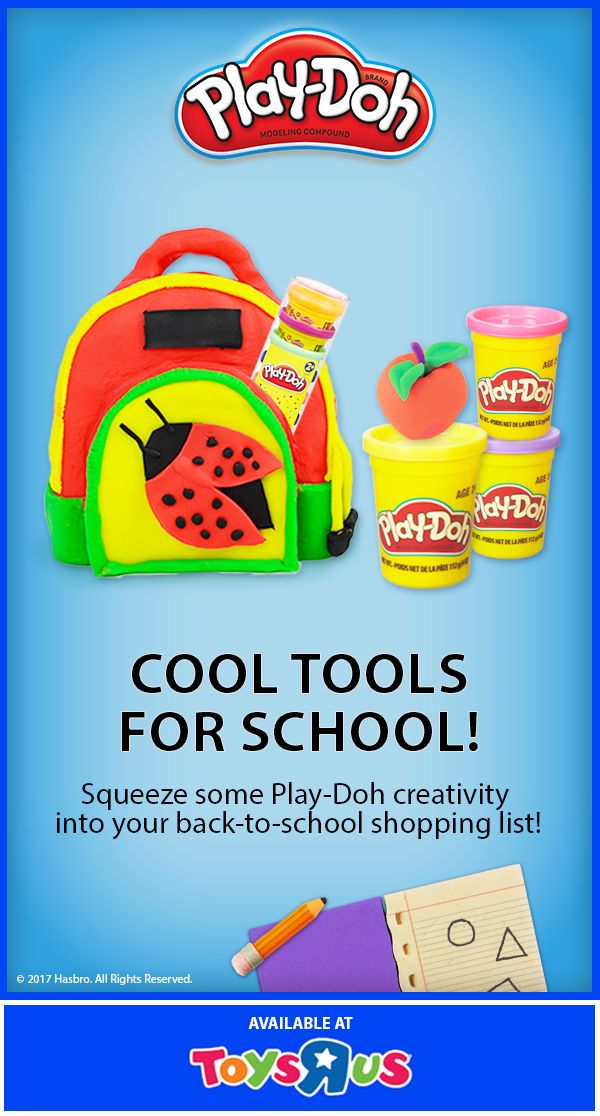 """Extend the classroom learning by bringing home select Play-Doh sets for 50% off at Toys """"R"""" Us!"""