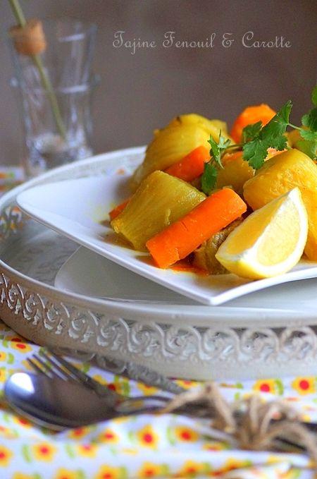 Tajine aux fenouils & aux carottes                                                                                                                                                                                 Plus
