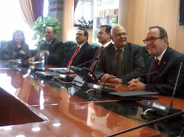 Nancy Emil organized the visit of Premier Robert Ghiz, Prime Minister of Prince Edward Island to Egypt