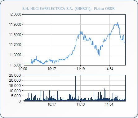 NUCLEARELECTRICA - First trading day