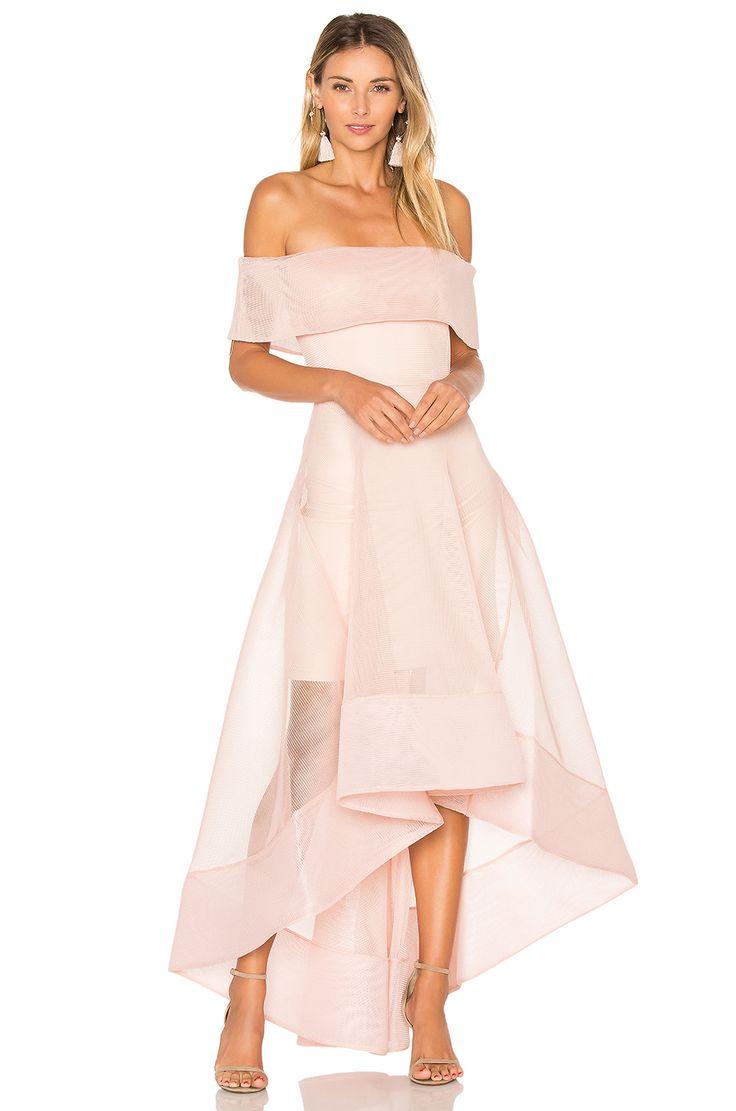 Bronx and Banco Tulip Dress in Blush | REVOLVE