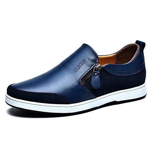 Oferta: 58.99€ Dto: -34%. Comprar Ofertas de Casual plana cuero mocasines conducción resbalón en bajo-Top zapatos ligero perezoso Invisible altura aumentar zapatos 2.36 d barato. ¡Mira las ofertas!
