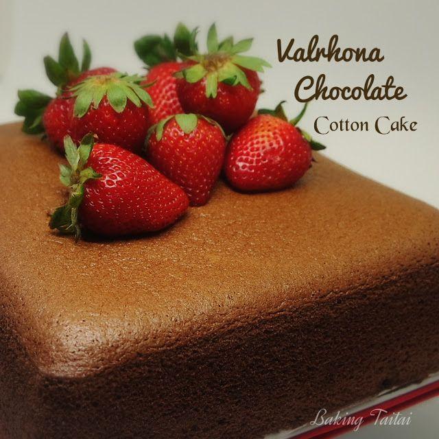 Baking Taitai Chocolate Sponge Cake