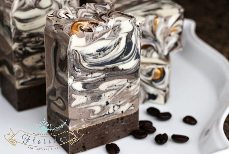Wake up and smell the coffee...sweet, smoky, full-bodied layers, chock-full of organic cocoa butter, mango butter and fair trade, organic Kicking Horse coffee...a rich, luxurious treat for your senses! Handmade in Florida