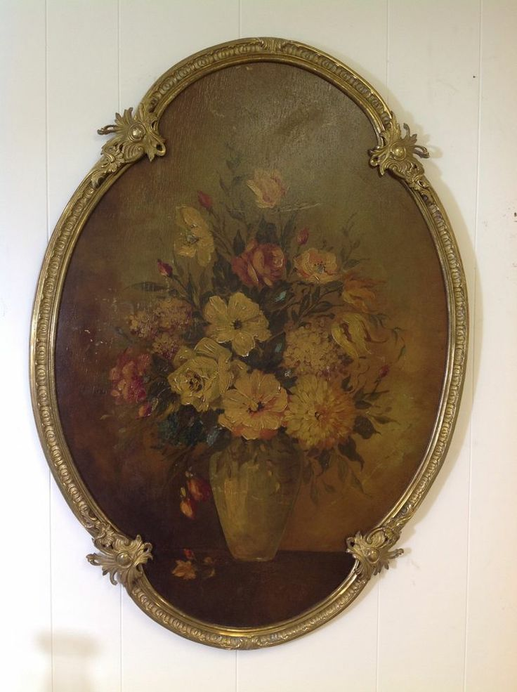 Antique French Bronze Ormolu Frame Featuring Floral
