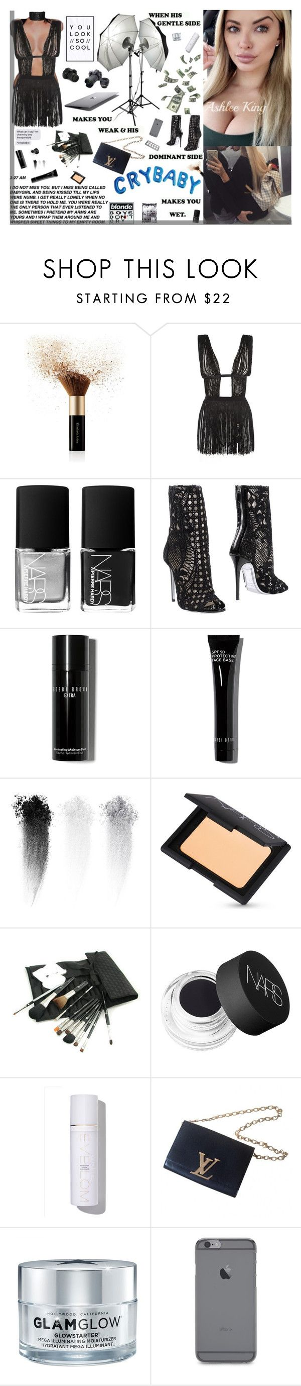 """""""Codeine cups paint a picture so vivid 🍇"""" by ashlee-lynn ❤ liked on Polyvore featuring Elizabeth Arden, Agent Provocateur, NARS Cosmetics, Balmain, Bobbi Brown Cosmetics, Glo Minerals, Eve Lom, Louis Vuitton, Boodles and GlamGlow"""