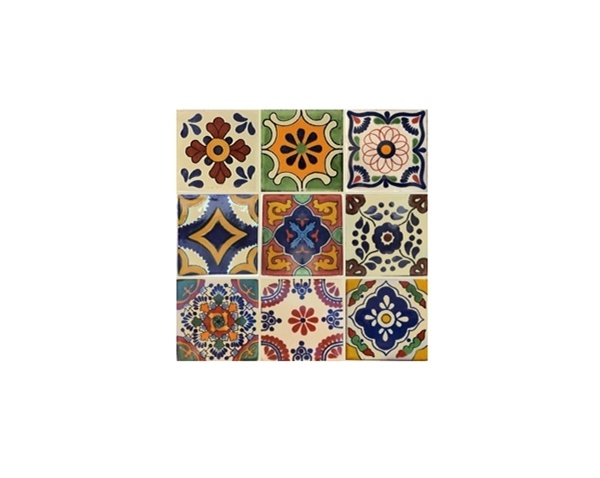 Top 25 ideas about Tile on table top on Pinterest