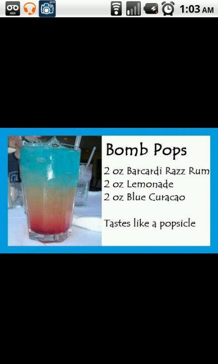 4th of july drink :)