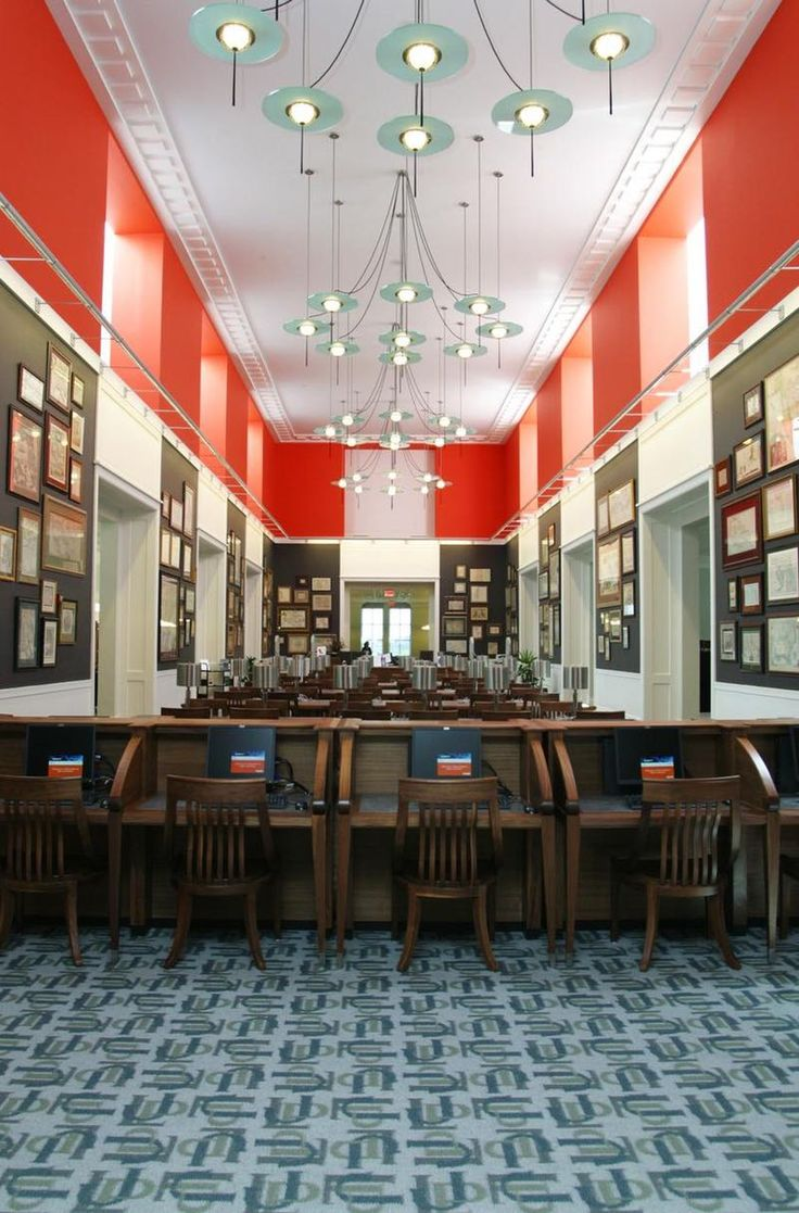 If you love maps, be sure to check out the Morris Ansbacher Map Room at the Jacksonville Main Library.(Jacksonville Public Library - Jacksonville Public Library)