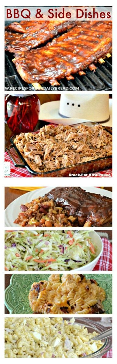 BBQ & Side Dish Recipes Memorial Day http://recipesforourdailybread.com/2014/05/23/memorial-day-bbq-sides/