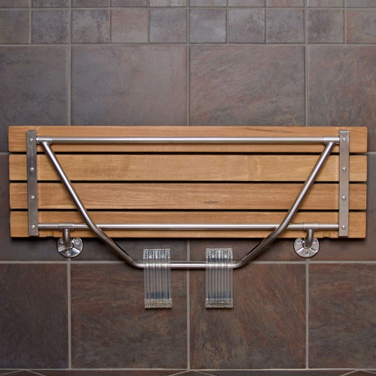 Folding Wall Mounted Shower Seat | Tyres2c