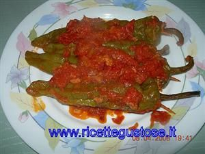Ricetta friggitelli ripieni con carne macinata o macinato, ricette friggitelli, ricette secondi di verdure, ricette secondi piatti, ricette -mobile