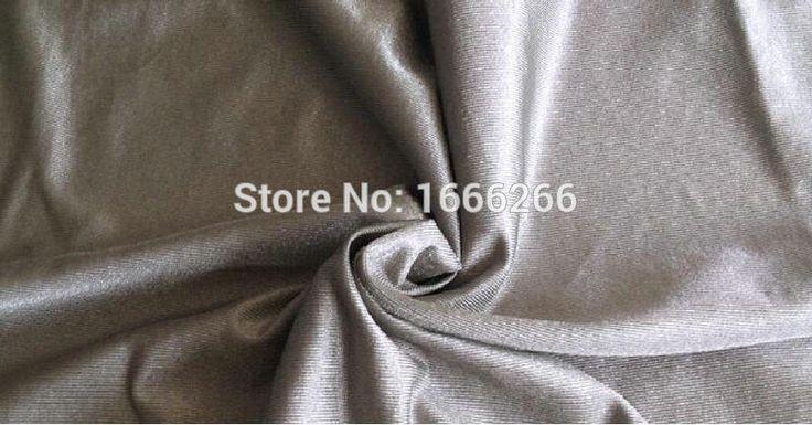 BLOCK EMF Stripe Antibacterial Silver Fabric To Make Shielding Clothing