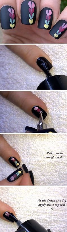 When we look at nail art, we usually see glossy nail deigns, but it's time for a change. Matte nail designs can be a great alternative to regular glossy nails. If you're looking for a classic manicure style that goes with all occasions, you can't go wrong with matte nails. In fact, they sometimes look more elegant and more attractive than glossy nails. However, if matte nails are too plain for your taste you can always combine them with glossy nail polish to create a unique style....