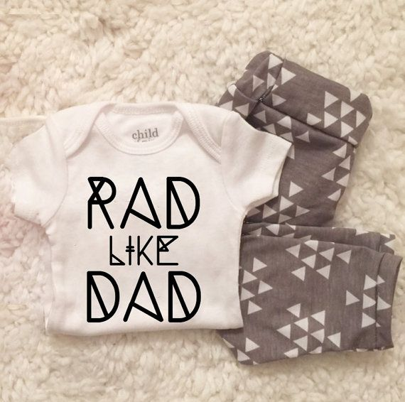 baby boy home coming set Girl Baby Leggings and shirt by LineLiam