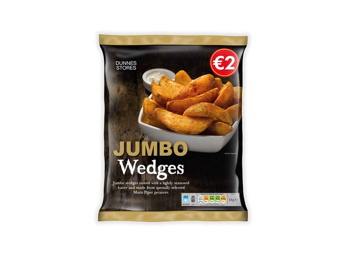 Dunnes Stores Jumbo Wedges - Frozen  designed by Mesh Design