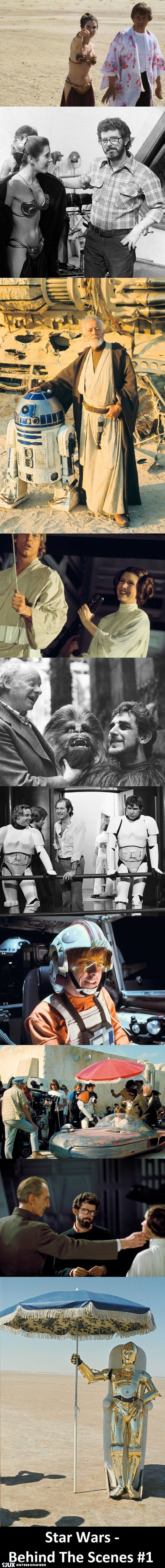 Star Wars Behind The Scenes #1