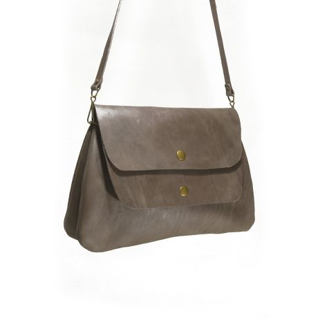 Red Oker Cheer Twin Satchel – Dove Grey from The Love of Leather - R699 (Save 29%)