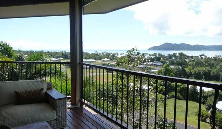 Stunning views from the pole home for sale at 1 Bedarrra Terrace, South Mission…