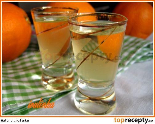 Pomerančový likér ze slivovice