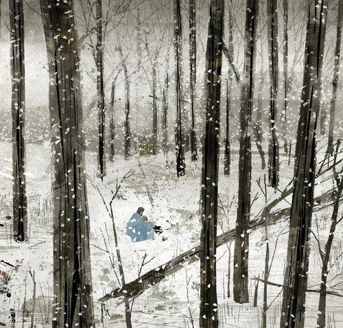 The Road, Jon Klassen