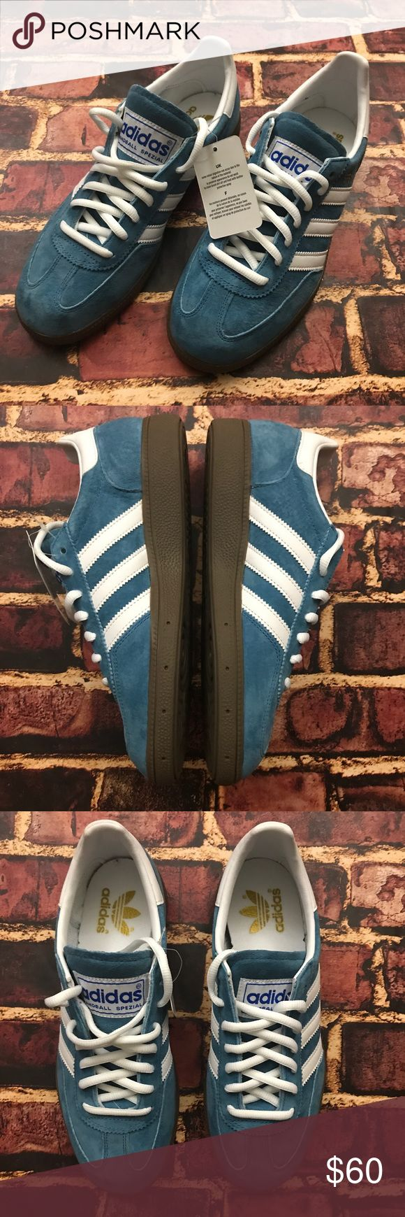 NWT adidas Handball Spezial Men's Size 7 Shoes Brand New without Box. Original adidas tags still attached. Zero flaws! Nice soft suede. See photos for details. Thanks! adidas Shoes Athletic Shoes
