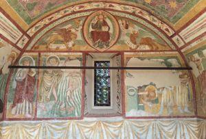 Affreschi absidali della chiesetta di San Giovanni Battista a Spilimbergo