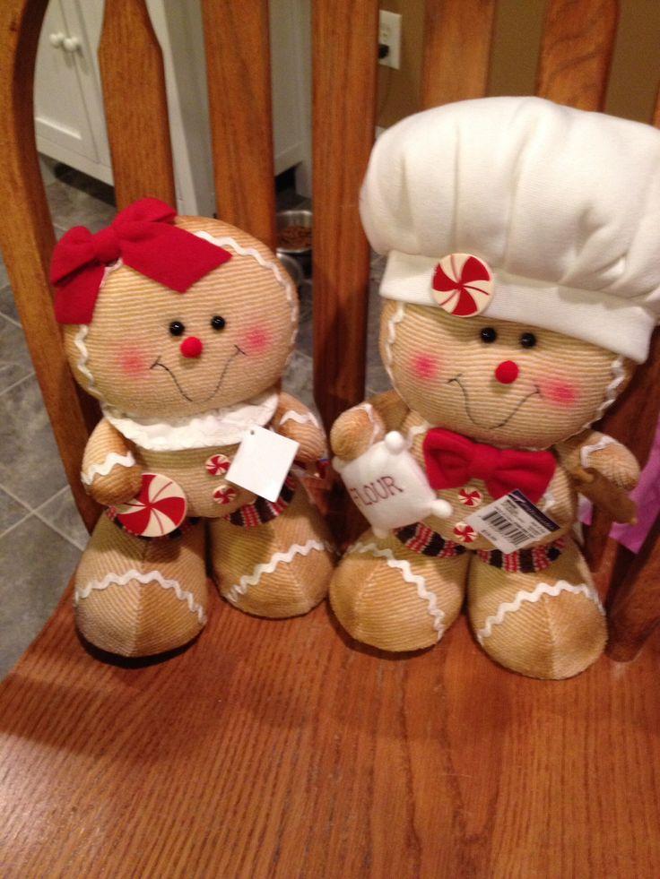 Christmas Gingerbread People