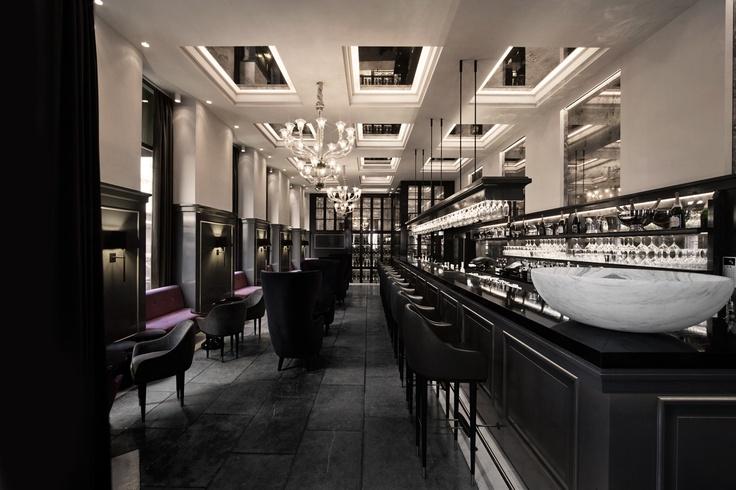 ~ Space// Balthazar Champagne Bar | London Design Journal