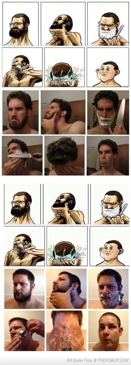 Copying A Shaving Meme...